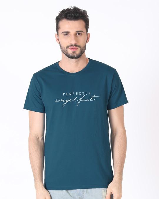 Shop Imperfect Half Sleeve T-Shirt-Back