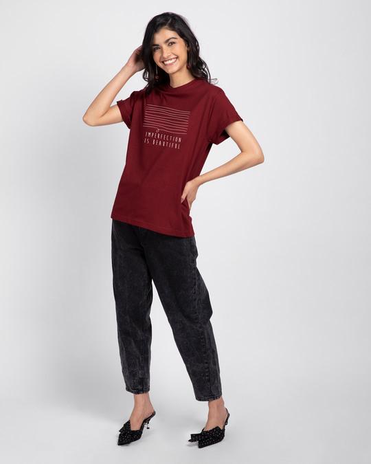 Shop Imperfection Boyfriend T-Shirt-Design