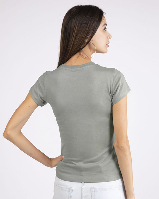 Shop Imperfectly Perfect 2.0 Half Sleeve T-Shirt-Back