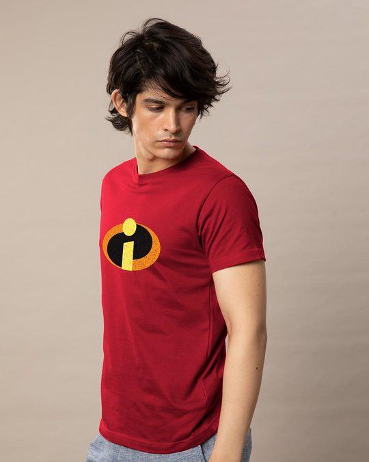 Shop Incredible Logo Half Sleeve T-Shirt (DL)-Design
