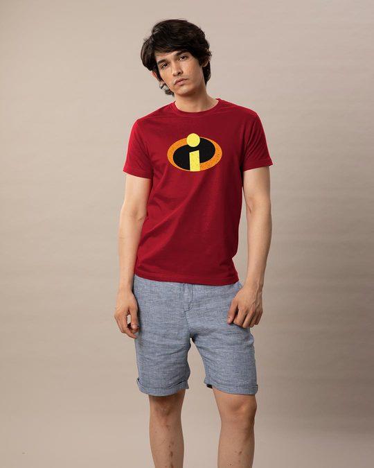 Shop Incredible Logo Half Sleeve T-Shirt (DL)