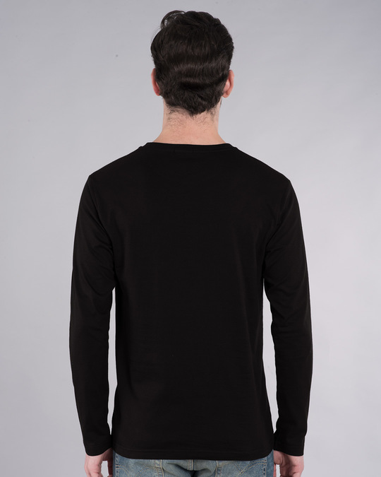 Shop India Barcode Full Sleeve T-Shirt-Back
