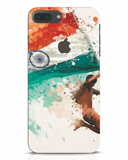 Shop India iPhone 7 Plus Logo Cut Mobile Cover-Front