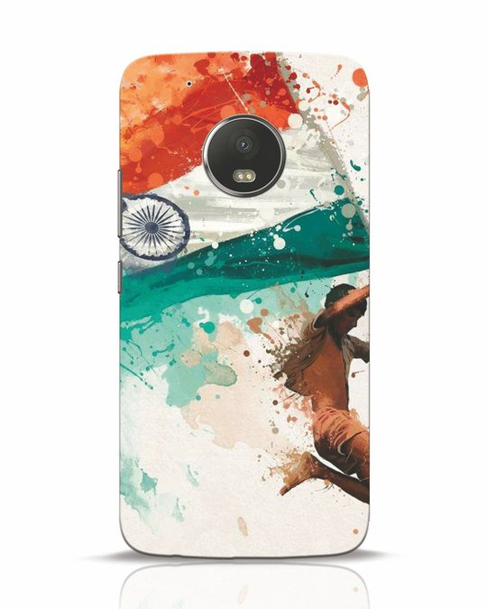 Shop India Moto G5 Plus Mobile Cover-Front