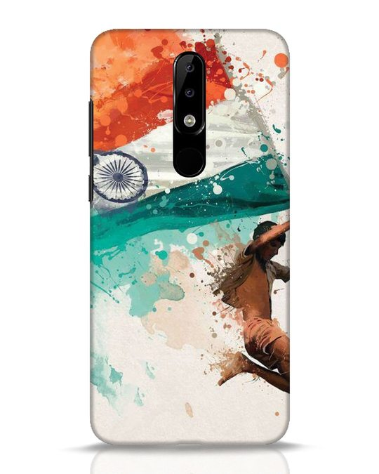 Shop India Nokia 5.1 Plus Mobile Cover-Front