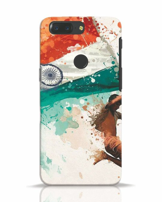 Shop India OnePlus 5T Mobile Cover-Front