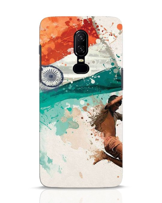 Shop India OnePlus 6 Mobile Cover-Front