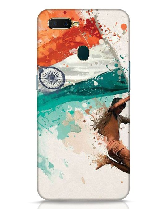Shop India Oppo A7 Mobile Cover-Front