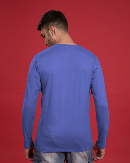 Shop India Tricolor Full Sleeve T-Shirt-Back