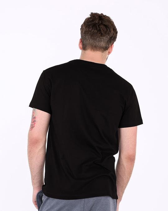 Shop Indian Blue Half Sleeve T-Shirt-Full