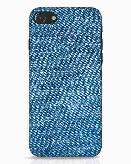 Shop Indigo iPhone 8 Mobile Cover-Front