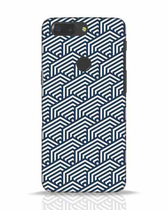 Shop Indigo Pattern OnePlus 5T Mobile Cover-Front