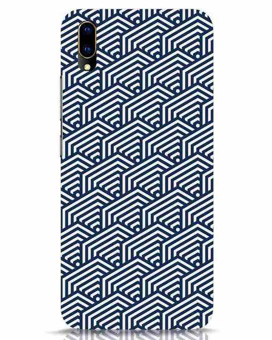 Shop Indigo Pattern Vivo V11 Pro Mobile Cover-Front