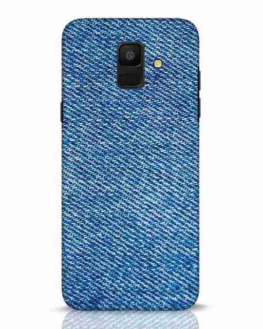 Shop Indigo Samsung Galaxy A6 2018 Mobile Cover-Front