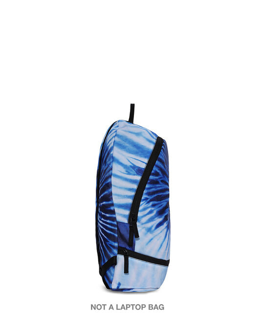Shop Indigo Tie Dye Small Backpack-Back