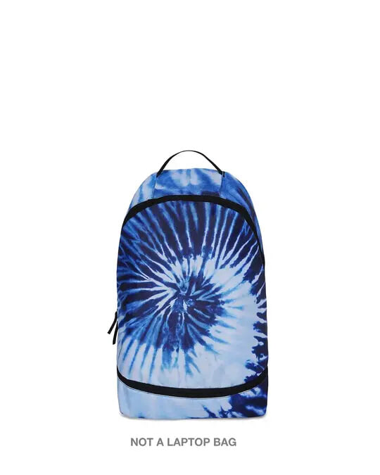 Shop Indigo Tie Dye Small Backpack-Front