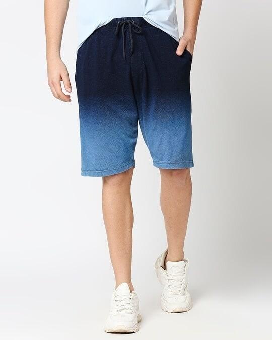 Shop Men's True Indigo Shorts-Back