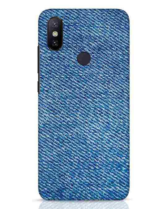 Shop Indigo Xiaomi Mi A2 Mobile Cover-Front