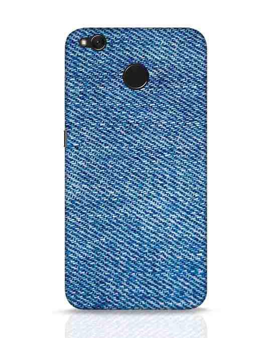 Shop Indigo Xiaomi Redmi 4 Mobile Cover-Front