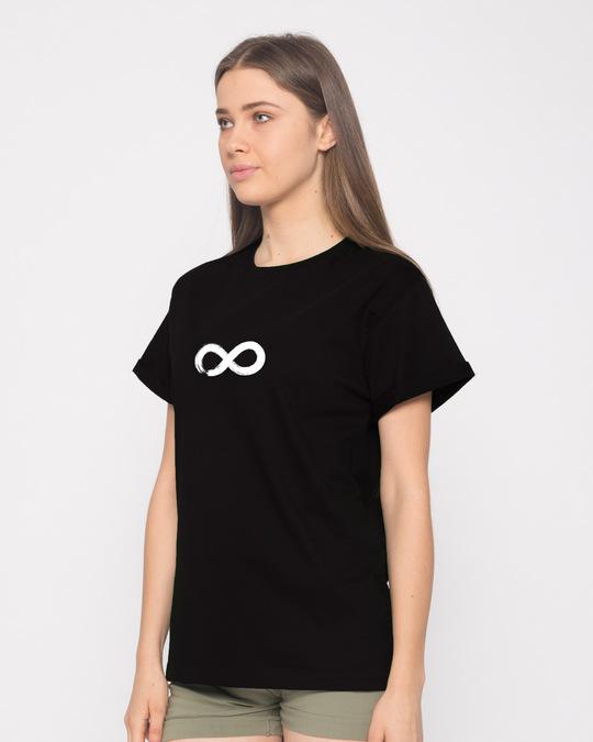 Shop Infinity Boyfriend T-Shirt-Back
