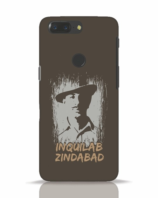 Shop Inquilab OnePlus 5T Mobile Cover-Front