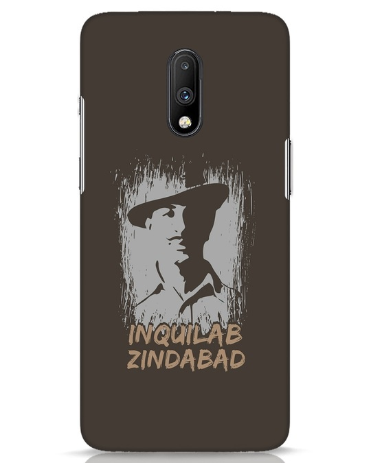 Shop Inquilab OnePlus 7 Mobile Cover-Front