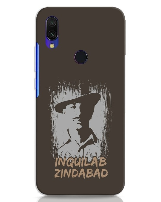 Shop Inquilab Xiaomi Redmi 7 Mobile Cover-Front