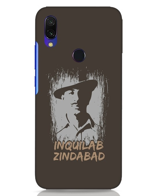 Shop Inquilab Xiaomi Redmi Y3 Mobile Cover-Front