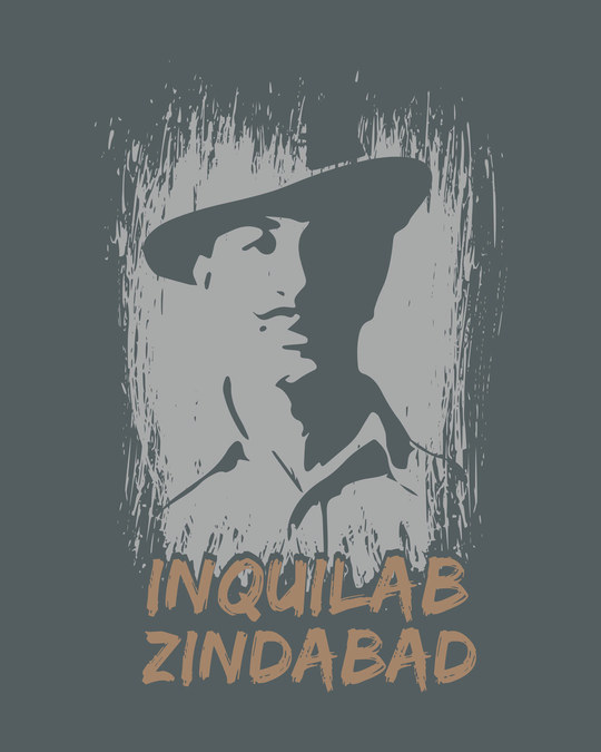 Shop Inquilab Zindabad Half Sleeve T-Shirt
