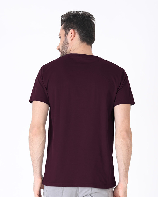 Shop Inspire Black Half Sleeve T-Shirt