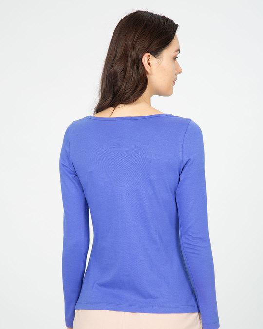 Shop Inspire Scoop Neck Full Sleeve T-Shirt-Back