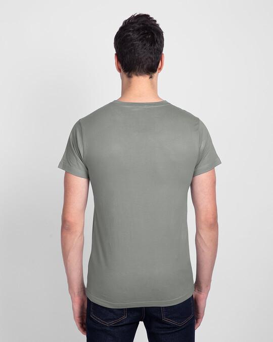 Shop Insta Story Half Sleeve T-Shirt Meteor Grey-Design