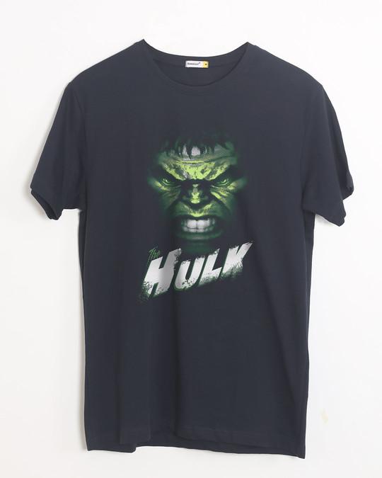 Shop Intense Hulk Half Sleeve T-Shirt (AVL)-Front