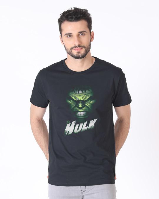 Shop Intense Hulk Half Sleeve T-Shirt (AVL)-Back