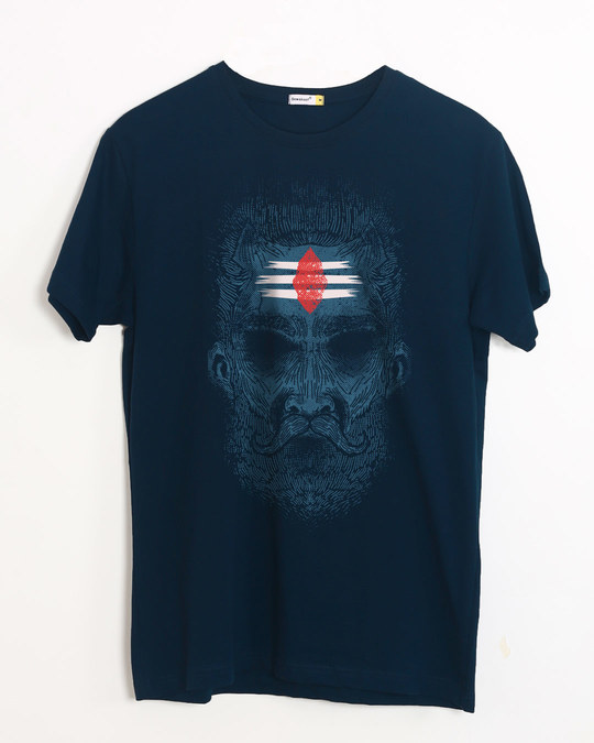 Shop Intense Mahakal Half Sleeve T-Shirt-Front