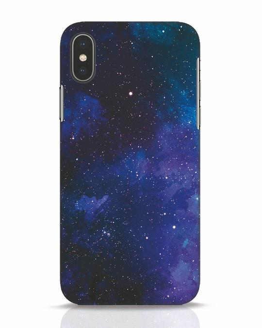 Shop Interstellar iPhone X Mobile Cover-Front