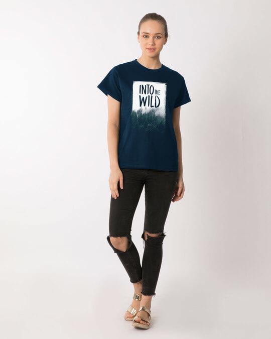 Shop Into The Wild Boyfriend T-Shirt