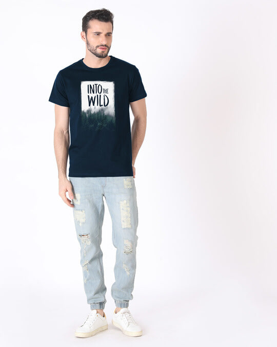 Shop Into The Wild Half Sleeve T-Shirt