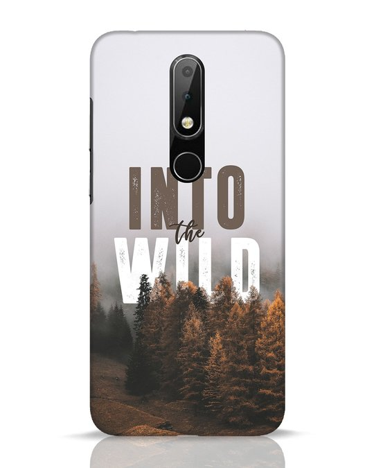 Shop Into The Wilderness Nokia 6.1 Plus Mobile Cover-Front
