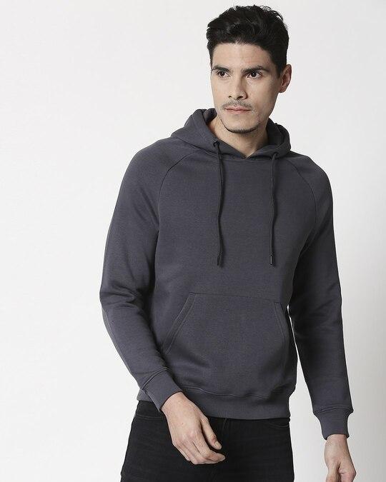 Shop Iron Gate Basic Hoodie Sweatshirt