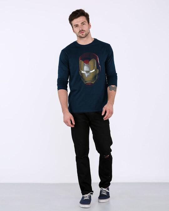 Shop Iron Man 3d Full Sleeve T-Shirt (AVL)-Full