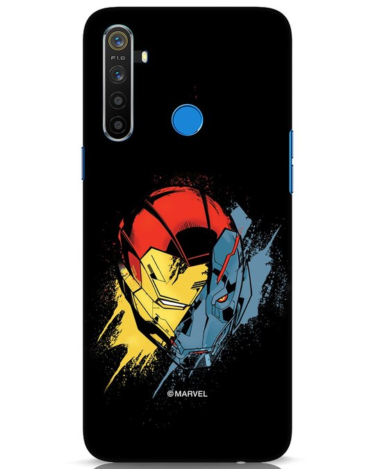 Shop Iron Man And Ultron Realme 5 Mobile Cover (AVL)-Front