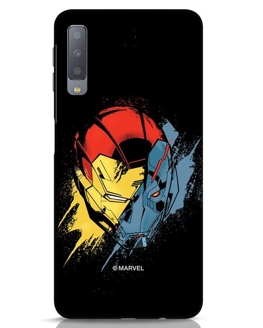 Shop Iron Man And Ultron Samsung Galaxy A7 Mobile Cover (AVL)-Front