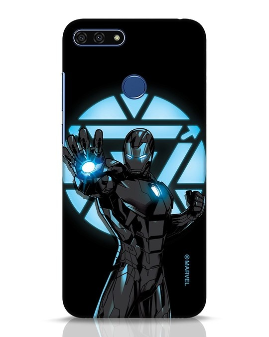 Shop Iron Man Attack Huawei Honor 7A Mobile Cover-Front