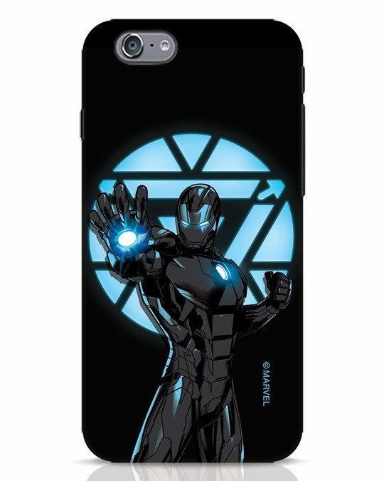 Shop Iron Man Attack iPhone 6s Mobile Cover-Front