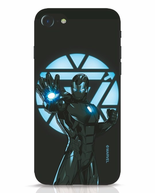 Shop Iron Man Attack iPhone 7 Mobile Cover-Front