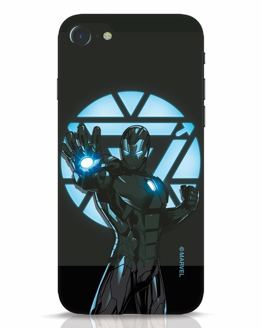 Shop Iron Man Attack iPhone 8 Mobile Cover-Front