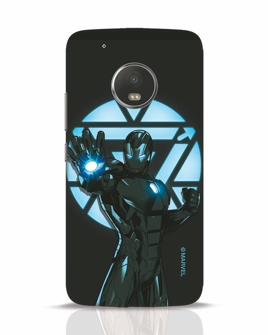 Shop Iron Man Attack Moto G5 Plus Mobile Cover-Front