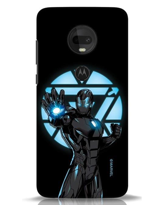 Shop Iron Man Attack Moto G7 Mobile Cover-Front