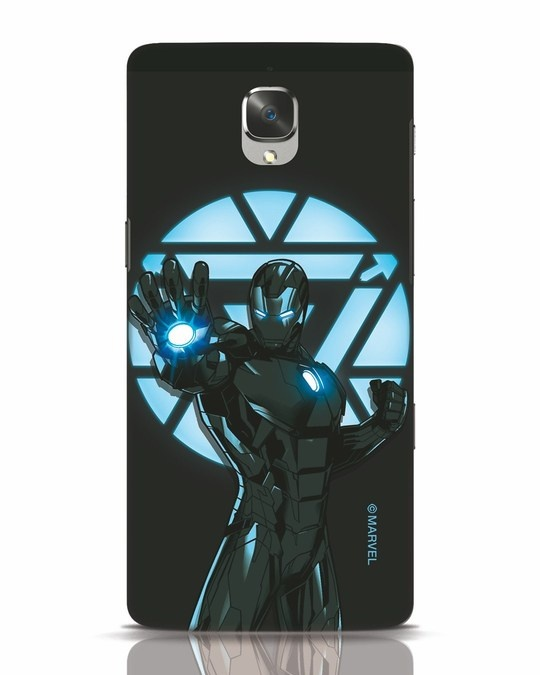 Shop Iron Man Attack OnePlus 3 Mobile Cover-Front